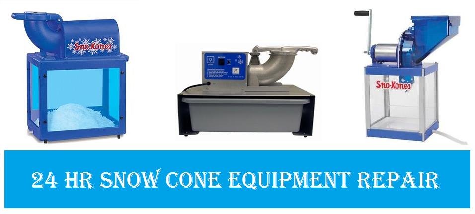 Snow Cone Machine Repair