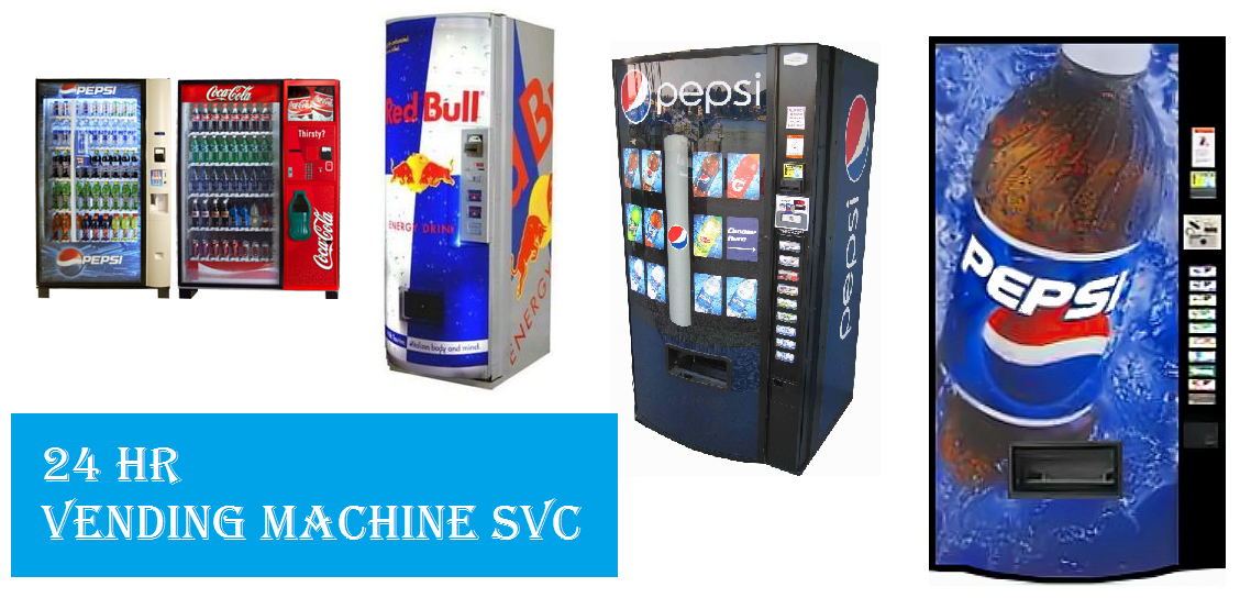 Soda Vending Machine Repair