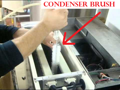 Ice Machine Condenser Brush